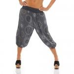 ZARMEXX - Pantaloni alla zuava dal ginocchio da donna pantaloni estivi