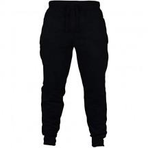 Pantaloni sportivi da uomo in pile - Slim Fit pantaloni da jogging casual tinta unita con tasche - 5 colori