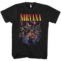 dongwanshifuxinmaoyiyouxiangongsi Nirvana Mens Live Unplugged T Shirt