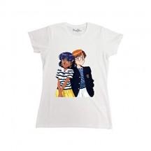 T-Shirt Maglietta Il mistero della Pietra Azzurra Nadia Jean Uomo