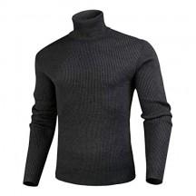 iClosam Maglioni da Uomo Invernali Cotone Slim Fit Maglione Dolcevita Pullover-Sweaters