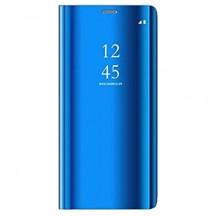 Oihxse Compatibile con Xiaomi Mi 9t Pro Cover Flip Custodia Cover con Funzione Kickstand Ultra-Sottile Specchio Traslucido Cover per Xiaomi Mi 9t Pro PU Silicone Protezione a quattro angoli (blu)