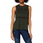 Under Armour Graphic Muscle Tank Linear Wordmark Canottiera Donna