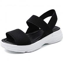 ZR1LZ Sandali a Punta Aperta Donna Fibbia Velcro/Acqua/Spiaggia/All'aperto Traspirante/Non Slip/SandalettiScarpe da Estate Uomo
