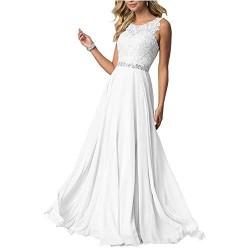 SongSurpriseMall Vestito da ballo in chiffon da donna lungo da sera da damigella d'onore feste balli
