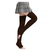 Nanxson Donne Scaldamuscoli Formazione Danza Pilates Balletto Yoga Calzini lunghi Legging TTW0065