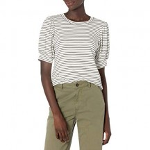 Marchio - Daily Ritual - Supersoft Terry Puff-sleeve Top shirts Donna